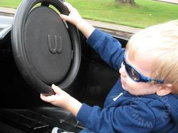 JSL driving a car