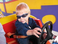 Toot toot Chugga Chugga! JSL drives the Big Red Car!