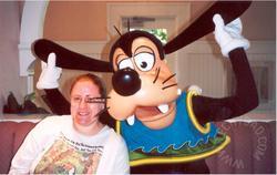 78 B & Goofy at breakfast at the Beach Club restaurant.jpg