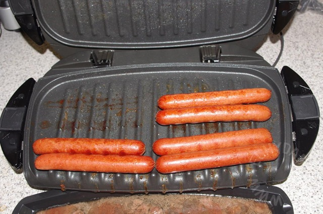 How To Grill Hot Dogs On A George Foreman