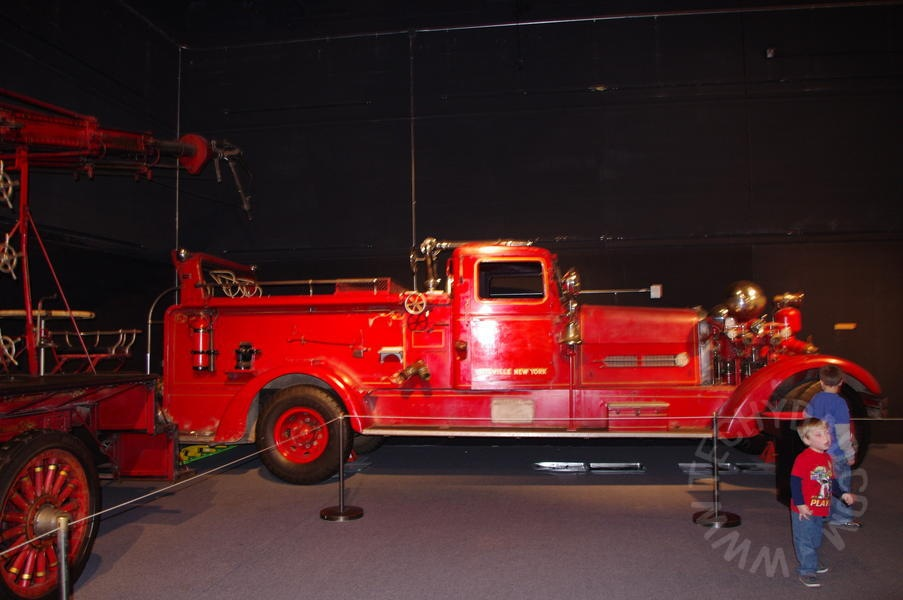 Now memorial fire truck used on 911 to visit NYC