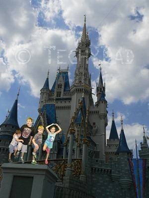 Kids At Disney World