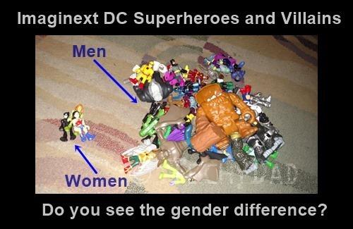 Imaginext Piles Men and Women