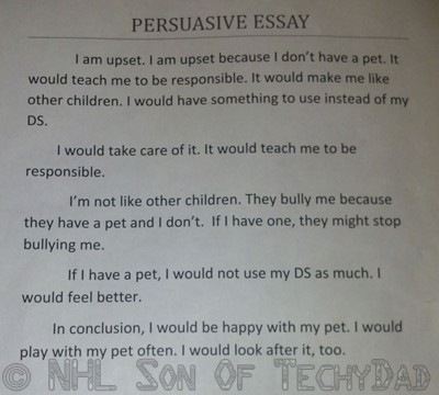bullying persuasive essay conclusion