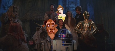 Return of the Jedi With Belle