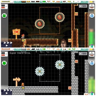 SuperMarioMaker_DifferentStyles
